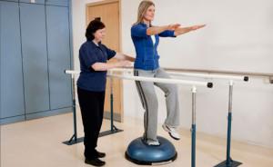 traening hos fysioterapeut